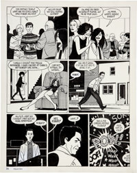 Jaime Hernandez Love and Rockets #34 Wigwam Bam page 12 Original Art (Fantagraphics, 1990)