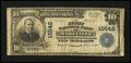 National Bank Notes:Tennessee, Maryville, TN - $10 1902 Plain Back Fr. 630 The First NB Ch. #10542. ...