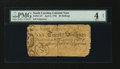Colonial Notes:North Carolina, North Carolina April 4, 1748 20s PMG Good 4 Net....