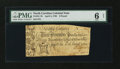 Colonial Notes:North Carolina, North Carolina April 4, 1748 £3 PMG Good 6 Net....