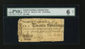 Colonial Notes:North Carolina, North Carolina March 9, 1754 20s PMG Good 6 Net....