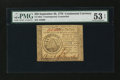 Colonial Notes:Continental Congress Issues, Continental Currency September 26, 1778 $50 ContemporaryCounterfeit PMG About Uncirculated 53 EPQ....