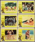 """Movie Posters:Rock and Roll, Surf Party (20th Century Fox, 1964). Lobby Cards (6) (11"""" X 14"""")and Photos (8) (8"""" X 10""""). Rock and Roll.. ... (Total: 14 Items)"""
