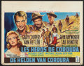 """Movie Posters:War, They Came to Cordura (Columbia, 1959). Belgian (15"""" X 19""""). War....."""