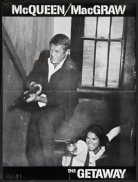 """The Getaway (National General, 1972). Promotional Foldout (24"""" X 18.25""""). Action"""
