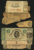 Confederate Notes:Group Lots, Confederate and More - Poor or Better.. ... (Total: 6 notes)
