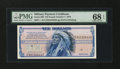 Military Payment Certificates:Series 692, Series 692 $10 PMG Superb Gem Unc 68 EPQ....
