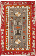 Other, A NAVAJO REGIONAL RUG. c. 1945...