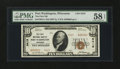 National Bank Notes:Wisconsin, Port Washington, WI - $10 1929 Ty. 2 The First NB Ch. # 9419. ...