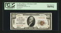 National Bank Notes:Wisconsin, Fennimore, WI - $10 1929 Ty. 1 The First NB Ch. # 13599. ...