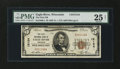 National Bank Notes:Wisconsin, Eagle River, WI - $5 1929 Ty. 1 The First NB Ch. # 12124. ...