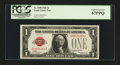 Small Size:Legal Tender Notes, Fr. 1500 $1 1928 Legal Tender Note. PCGS Superb Gem New 67PPQ.. ...