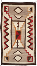 American Indian Art:Weavings, A NAVAJO REGIONAL RUG . c. 1925...