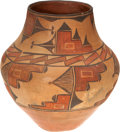 American Indian Art:Pottery, A ZIA POLYCHROME STORAGE JAR. Martina Pino. c. 1920...