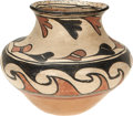 American Indian Art:Pottery, A SAN ILDEFONSO POLYCHROME JAR. c. 1900...