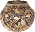 American Indian Art:Pottery, A ZUNI (KIAPKWA) POLYCHROME STORAGE JAR. c. 1850...