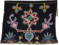 American Indian Art:Beadwork and Quillwork, A KIOWA BEADED CLOTH APRON. c. 1890...