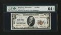 National Bank Notes:Wisconsin, Rice Lake, WI - $10 1929 Ty. 2 The First NB Ch. # 6663. ...