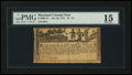 Colonial Notes:Maryland, Maryland July 26, 1775 $1 1/3 PMG Choice Fine 15....