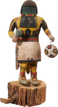 American Indian Art:Kachina Dolls, A HOPI COTTONWOOD KACHINA DOLL. c. 1945. ...