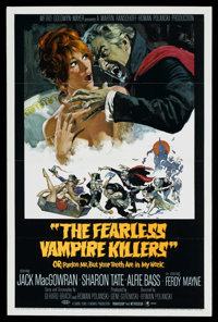 """The Fearless Vampire Killers (MGM, 1967). One Sheet (27"""" X 41"""") Style B"""