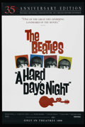 "Movie Posters:Rock and Roll, A Hard Day's Night (United Artists, R-1999). One Sheet (27"" X 40"")DS. Rock and Roll. Starring John Lennon, Paul McCartney, ..."