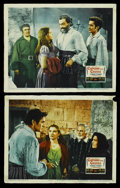 """Movie Posters:Adventure, Captain from Castile (20th Century Fox, 1947). Lobby Cards (2) (11""""X 14""""). Adventure. Starring Tyrone Power, Jean Peters, C... (Total:2 Items)"""