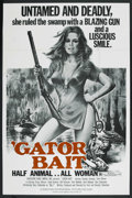 "Movie Posters:Bad Girl, Gator Bait (Dimension Pictures, 1974). Poster (40"" X 60"").Exploitation. ..."