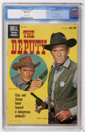 Silver Age (1956-1969):Western, Four Color #1077 The Deputy (#1) (Dell, 1960) CGC NM 9.4 Off-whitepages....