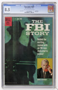 Silver Age (1956-1969):Miscellaneous, Four Color #1069 The FBI Story (Dell, 1959) CGC VF+ 8.5 Light tan to off-white pages....