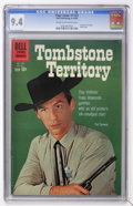 Silver Age (1956-1969):Western, Four Color #1123 Tombstone Territory (Dell, 1960) CGC NM 9.4 Creamto off-white pages....