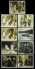 """Movie Posters:Drama, The Woman in Chains (Amalgamated Producing Corp., 1923). Stills (9) (8"""" X 10""""). ... (Total: 9 Items)"""