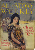 """Pulps:Miscellaneous, All-Story Weekly """"At the Earth's Core"""" Group (Munsey, 1914) Condition: Average VG...."""