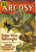 Pulps:Miscellaneous, Argosy-All Story Weekly Edgar Rice Burroughs Group (Munsey, 1937-39) Condition: Average VG-.... (Total: 12 Comic Books)