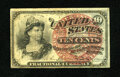 Fractional Currency:Fourth Issue, Fr. 1261 10c Fourth Issue Fine....