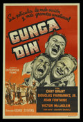 """Movie Posters:Action, Gunga Din (RKO, R-1940s). Argentinean Poster (29"""" X 43""""). Action...."""
