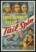 "Movie Posters:Drama, Tail Spin (20th Century Fox, 1938). One Sheet (27"" X 41""). Drama. ..."