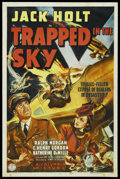 """Movie Posters:Drama, Trapped in the Sky (Columbia, 1939). One Sheet (27"""" X 41""""). Drama. ..."""