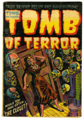 Golden Age (1938-1955):Horror, Tomb of Terror #11 (Harvey, 1953) Condition: GD/VG....