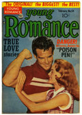 Golden Age (1938-1955):Romance, Young Romance Comics #54 (Prize, 1954) Condition: FN/VF....