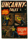 Golden Age (1938-1955):Horror, Uncanny Tales #3 (Atlas, 1952) Condition: GD-....