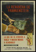 "Movie Posters:Horror, The Revenge of Frankenstein (Columbia, 1958). Argentinean Poster (29"" X 43""). Horror. ..."