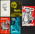 Movie Posters:Exploitation, Exploitation Lot (Various, 1968-1972). Pressbooks (5) (MultiplePages, Various Sizes). Exploitation.. ... (Total: 5 Items)