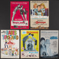 "Movie Posters:Adventure, Disney Live-Action Lot (Buena Vista, 1961-1973). Photos (24) (8"" X10"") and Pressbooks (5) (12"" X 18"", Multiple Pages). Adve...(Total: 29 Items)"