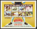 """Movie Posters:Fantasy, The 3 Worlds of Gulliver (Columbia, 1960). Half Sheet (22"""" X 28""""). Fantasy.. ..."""