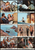 "Movie Posters:Adventure, The Light at the Edge of the World (National General, 1971).International Lobby Card Set of 12 (9.25"" X 13.25""). Adventure....(Total: 12 Items)"