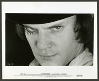 """A Clockwork Orange (Warner Brothers, 1971). Photos (5) (8"""" X 10""""). Science Fiction. ... (Total: 5 Items)"""