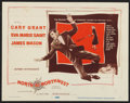 """Movie Posters:Hitchcock, North by Northwest (MGM, 1959). Title Lobby Card (11"""" X 14"""").Hitchcock.. ..."""