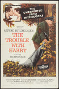 """Movie Posters:Hitchcock, The Trouble With Harry (Paramount, 1955). One Sheet (27"""" X 41""""). Hitchcock.. ..."""
