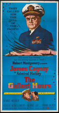 """Movie Posters:War, The Gallant Hours (United Artists, 1960). Three Sheet (41"""" X 81"""").War.. ..."""